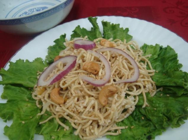 Salade de nouille asiatique 2