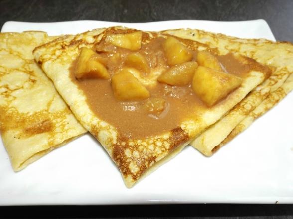 Pommes carambars ( garniture crêpes )2