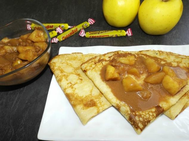 Pommes carambars ( garniture crêpes )