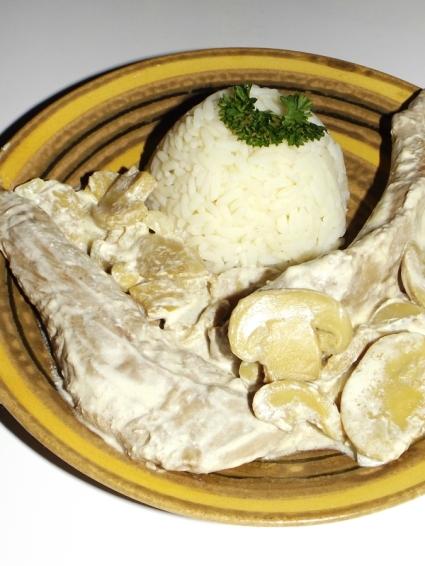 Aiguillette de canard à la crème et aux champignons.jpg