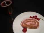 Bûche de Noël aux fruits rouges5