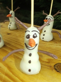 Cakes pops Olaf3