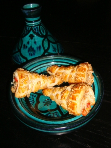 Cornets farcis au thon