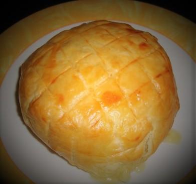 Feuilleté au camembert et au saucisson (2)