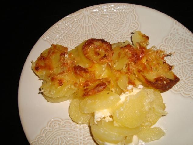 Gratin de pommes de terre au safran et au mascarpone2