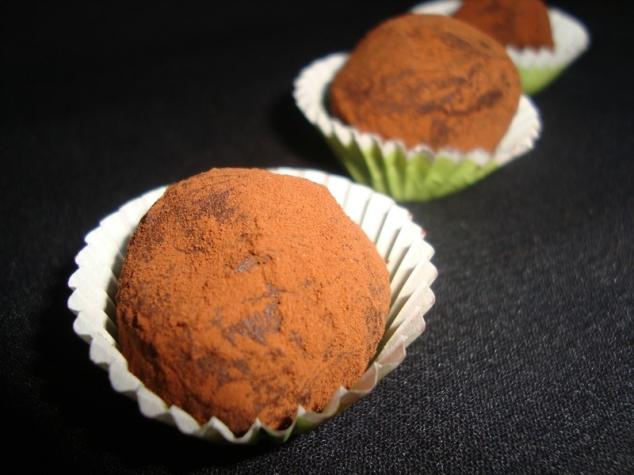 Truffes au chocolat noir ultra simple