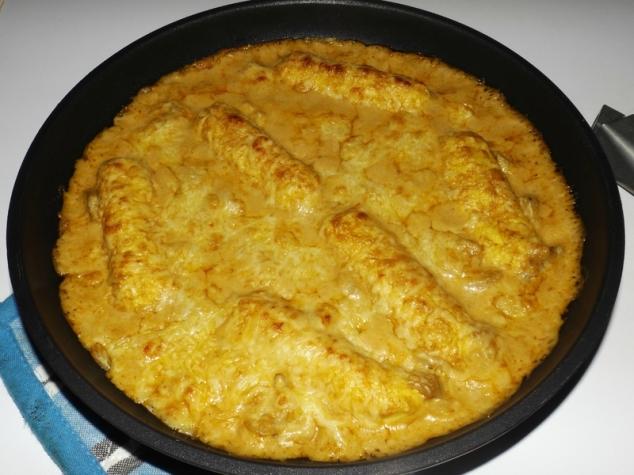 Quenelles de brochet sauce homardine ( en gratin )