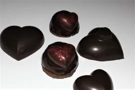 dômes bavaroises poire chocolat pour la st-valentin 1 (2)