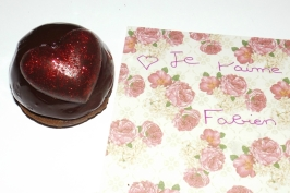 dômes bavaroises poire chocolat pour la st-valentin 3