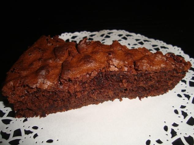 gâteau au chocolat terriblement moelleux