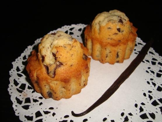 Madeleine muffins vanille et pépites de chocolat.jpg